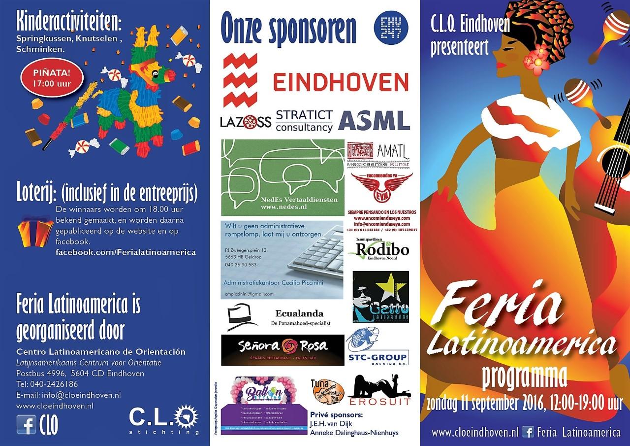 Programma feria latinoamerica 2016 achterzijde